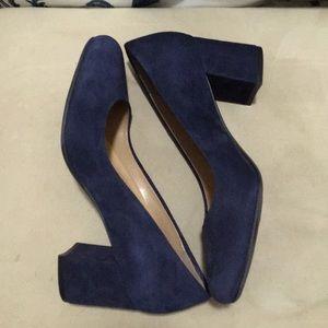 Naturalizer Blue Suede Shoes